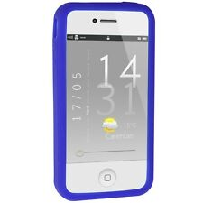 Silicone Bumper for iPhone 4 / 4S - Blue