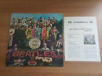 THE BEATLES Sgt.Pepper's Lonely hearts 11 Tracks 1977 Korea Orig LP Rare Sleeve