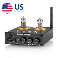 Mini Tube Preamplifier with Bluetooth 5.0 / Usb Sd Play / Headphone Amp / Remote