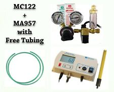 Mc122 pH Controller + Milwaukee Co2 Regulator C02 Ma957 Probe w/ Tubing Combo