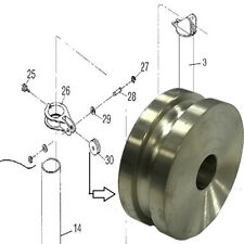 """Chain Roller Wheel 5"""" - for 1/2"""" Chain - Chief"""
