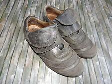 MOMINO Anthrazitfarbene Schuhe Sneaker Klett vintage Optik Fußball  Gr.32