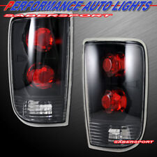 Set of Pair Black Taillights for 1995-2005 Chevy Blazer Jimmy / 96-01 Bravada