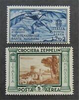 nystamps Italy Stamp # C32//C43 Mint OG H $32