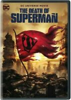 New and Sealed The Death of Superman [DVD] [2018] ✔Ships Same Day  ✔USA Seller !