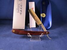 Dovo 5/8 Cocobolo Wood Solingen Germany Straight Razor 24kt. Gold Etch 1165851