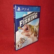Legendary Fishing (Sony Playstation 4 PS4, 2017)