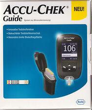 Accu-Chek Guide Blutzucker-Messgerät mg/dl plus 10-210 Teststreifen - neu+OVP