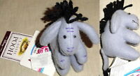 """DISNEY STORE TOKYO 1990s CLASSIC EEYORE Mini Plush 4"""" MAGNET New with MINT TAGS!"""