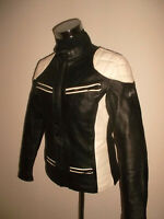 vintage POLO Motorradjacke Leder Bikerjacke leather motorcycle jacket 54 M