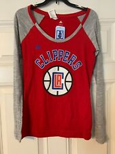Adidas LA Clippers Long Sleeve Women Ladies Size Small NBA 4 Her