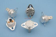 5pcs 175 °C KSD301  NC Manual Reset Bimetal disc thermostat 16A 125VAC
