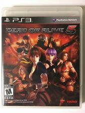 Dead or Alive 5 (Sony PlayStation 3, 2012) PS3 Video Game Complete!