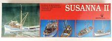 Remnant Parts Kit: Aeropiccola Susanna Ii Model Fishing Trawler Kit 606/Sm