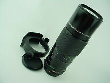 Canon FD 200mm f/4 Macro Lens FD mount Manual Focus Lens w/ Tripod support-Used