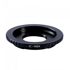 C Mount to Sony E NEX appareil photo Bague d'adaptation pour 5N VG10E C3 A7R A5100 A6000 C-NEX