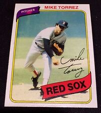 MIKE TORREZ 1980 Topps ERROR Pink Blotch Unlisted VARIATION #455 Rare OddBaLL SP