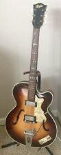Vtg 60's Hofner Hollow Body Electric Guitar Made in West Germany