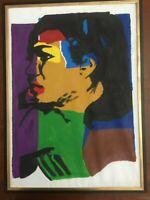 Andy Warhol olio su tela cm 50x70 cornice compresa Falso d' autore