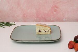 D&F Natural Blue Dinner plate set of 4