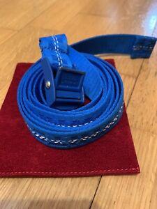 Off White Industrial Belt Mini Blue