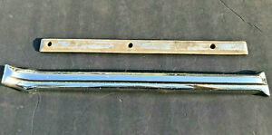 1940 41 42 46 47 HUDSON CHROME WINDSHIELD DIVIDER GARNISH MOULDING NICE INSIDE