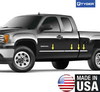 TYGER For 14-18 Chevy Silverado Reg Cab 5.8/' Bed Side Molding Trim 1 1//4/'/' 10PC