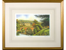 'Chatsworth' by Peter Annable, Signed Limited Edition Print. Derbyshire