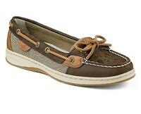 Sperry | Women's Angelfish Whale Tale Embossed Slip On Boat Shoes SZ 8.5