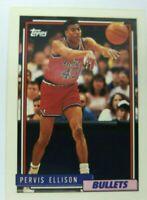 Pervis Ellison Basketball Card (Washington Bullets) 1993 Topps #99