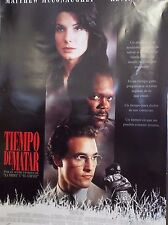 1996 Tiempo De Matar/A Time To Kill Original Spanish Movie Poster Single Sided