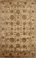 6'x9' Classic Agra Oriental Floral Area Rug Hand-Tufted Wool Dining Room Carpet