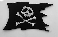Skull And Crossbones Pirate Flag Automotive Custom Drag Racing Biker Motorcycle