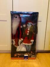 Disney's Tim Burton Nightmare Before Christmas Plush Doll Santa Jack Sally