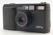 [Near MINT] Ricoh GR1v GR-1V BLACK 35mm Point Shoot Film Camera From JAPAN a163