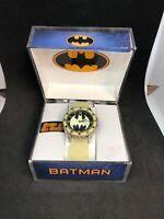 Batman Watch DC Comics Accutime Glows in the Dark
