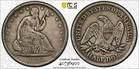 1859-O Seated Liberty Half Dollar PCGS Very Fine Detail 162 yr Old US Coin 6900