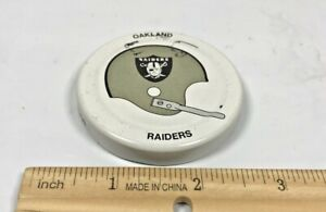 Vintage Oakland Raiders Gatorade Lid 1970's Lot D