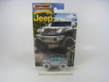 JEEP WILLYS CONCEPT 1/64 MATCHBOX (SILVER)