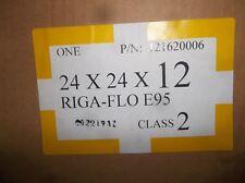 "New Farr Camfil Riga-Flo E95, 24 x 24 x 12"" Hi Flow Filter 121620006 Class 2"