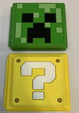 Nintendo Switch Minecraft & Question Block Game Card Case