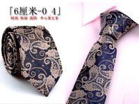 Classic Mens Silk Tie Neck Ties Jacquard Woven Elegant Various Color Necktie Lot