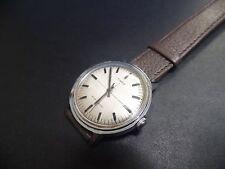 Estremamente raro quadrante Biancheria 1960 MADE in Gran Bretagna Timex vintage mirino