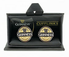 Guinness Cufflinks - Enamelled Metal