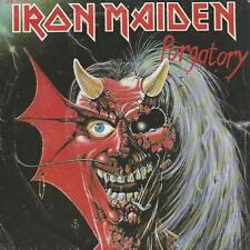 """IRON MAIDEN purgatory (PS) VG+/VG++ french 7"""""""