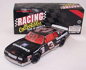 1995 RCCA 1:24 DALE EARNHARDT #3 Goodwrench 1988 Chev MC HO Fastback Aerocoupe