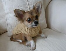 "6"" Hand Knitted Warm Chihuahua Small Dog Puppy Teacup Cat Jumper Coat Sweater."