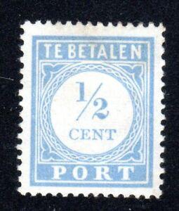 1912-21 Nederland SC# J44 - Postage Due Stamps - M-H
