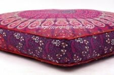 """Meditation Cushion Cover Indian Mandala Floor Pillow Tapestry Dog Bed Square 35"""""""