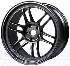 "ENKEI RPF1 Wheels 17x9"" 5x100 +35mm Gunmetal WRX BRZ FR-S Rims 379-790-8035GM"